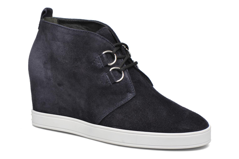 Chaussures à lacets HÖGL Christel Bleu vue détail/paire