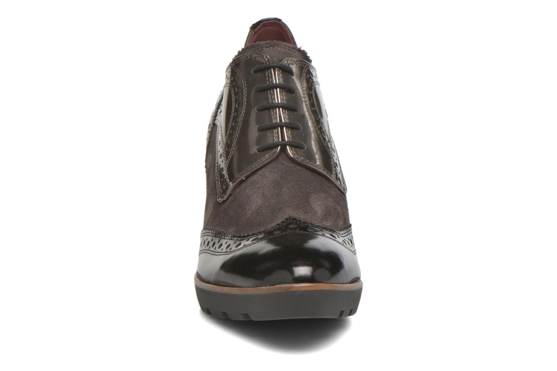 Chaussures à lacets HÖGL Zella Gris vue portées chaussures
