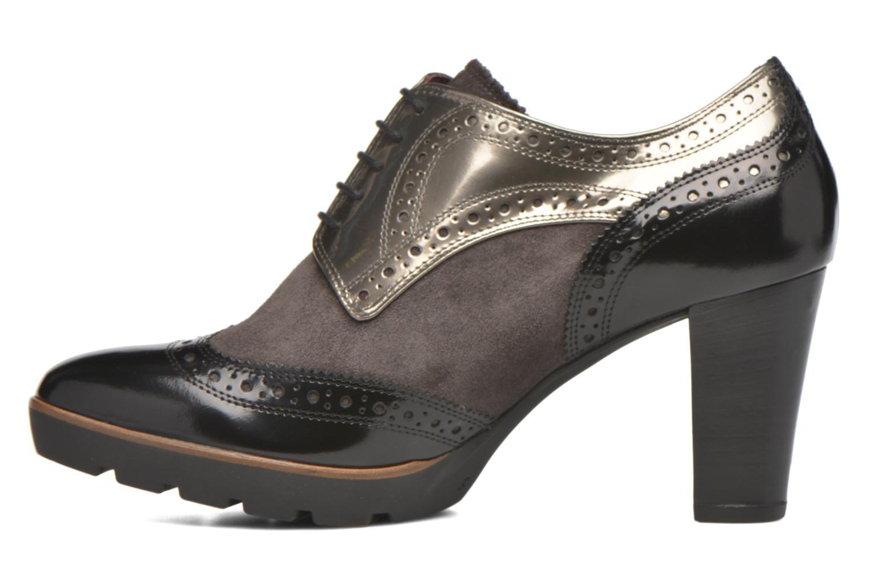 Chaussures à lacets HÖGL Zella Gris vue face