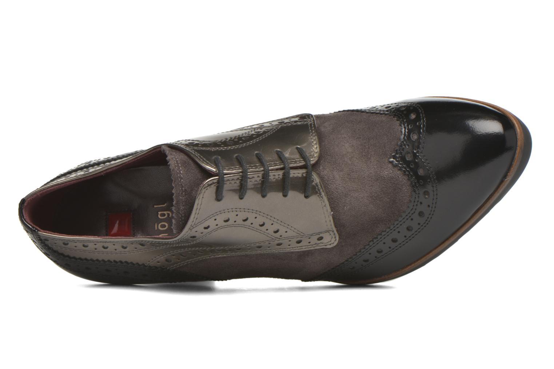 Chaussures à lacets HÖGL Zella Gris vue gauche