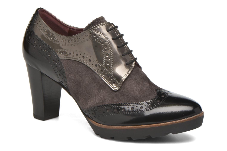 Chaussures à lacets HÖGL Zella Gris vue détail/paire