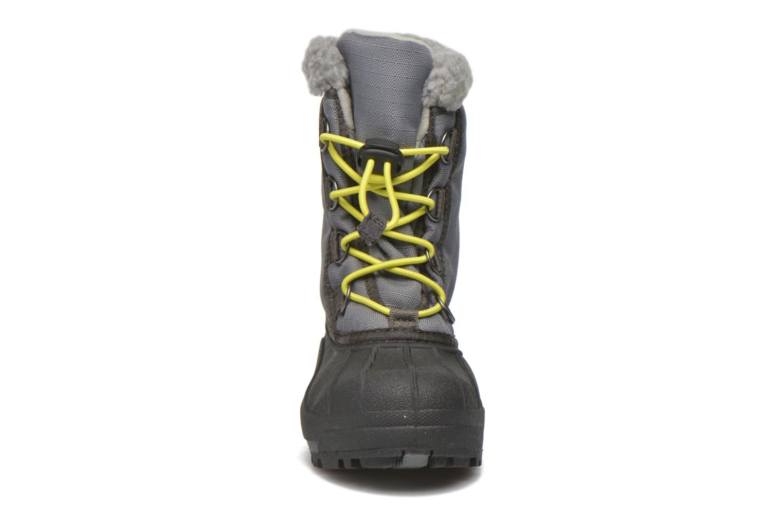 Bottes Sorel Youth Cumberland Gris vue portées chaussures
