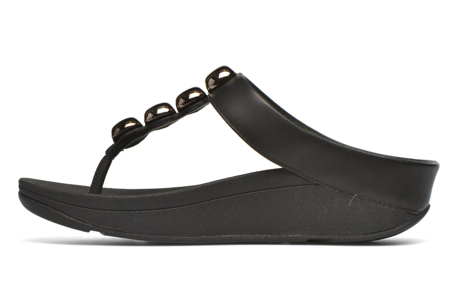 Tongs FitFlop Rola Noir vue face