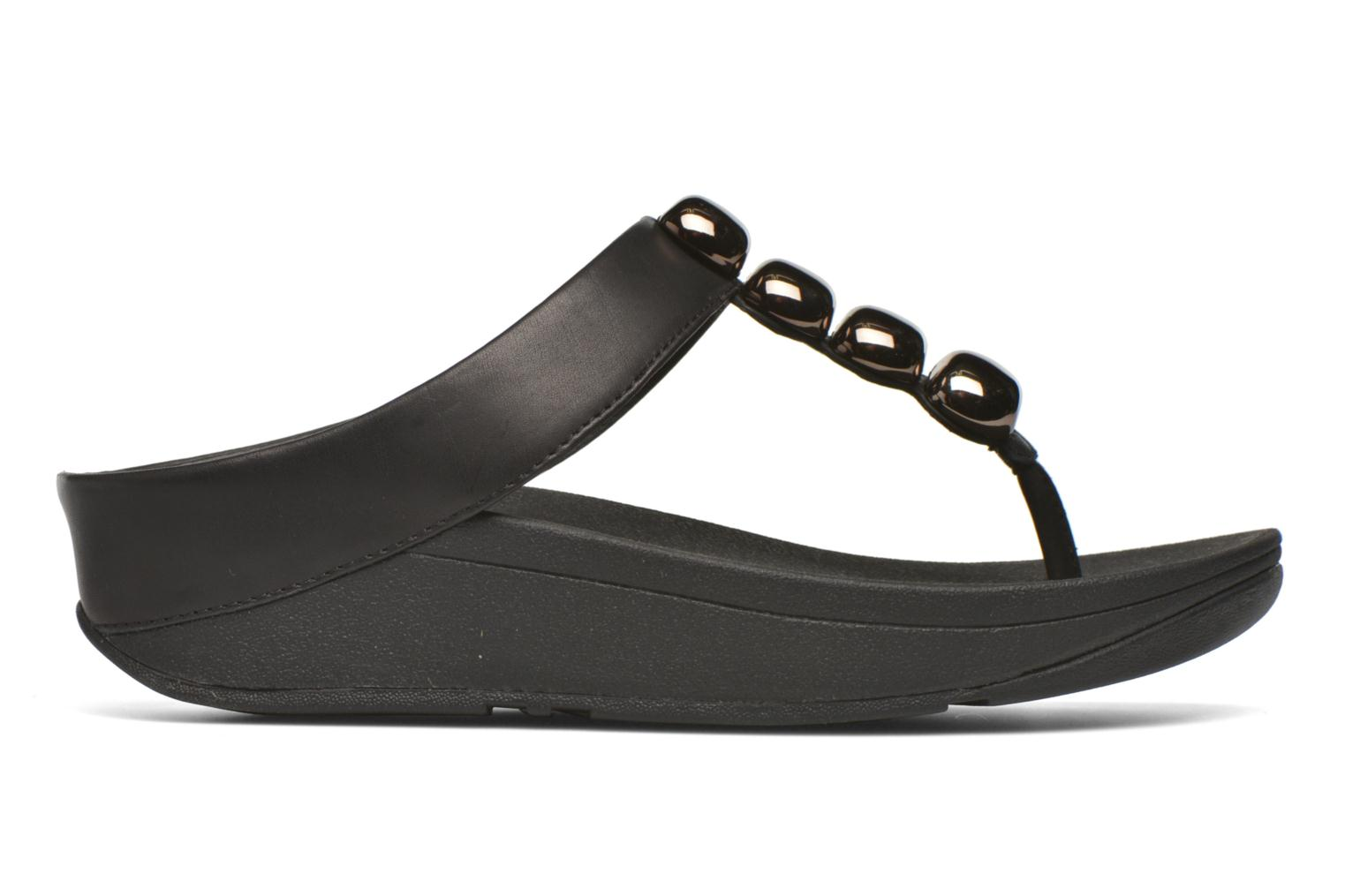 Flip flops FitFlop Rola Black back view