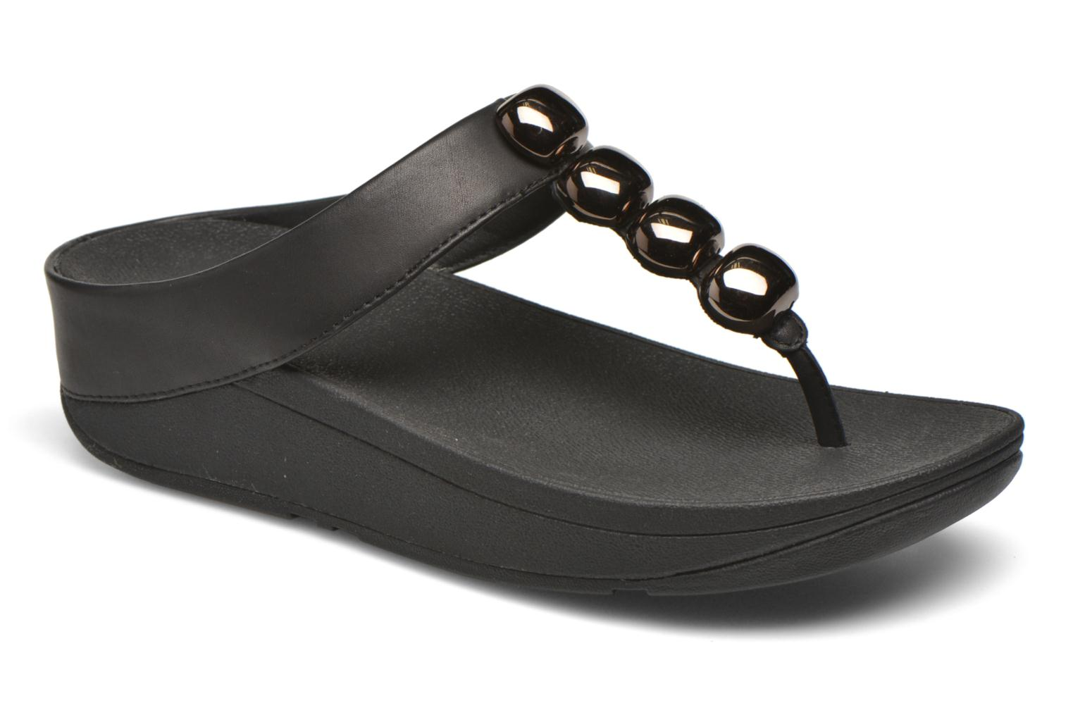 Flip flops FitFlop Rola Black detailed view/ Pair view