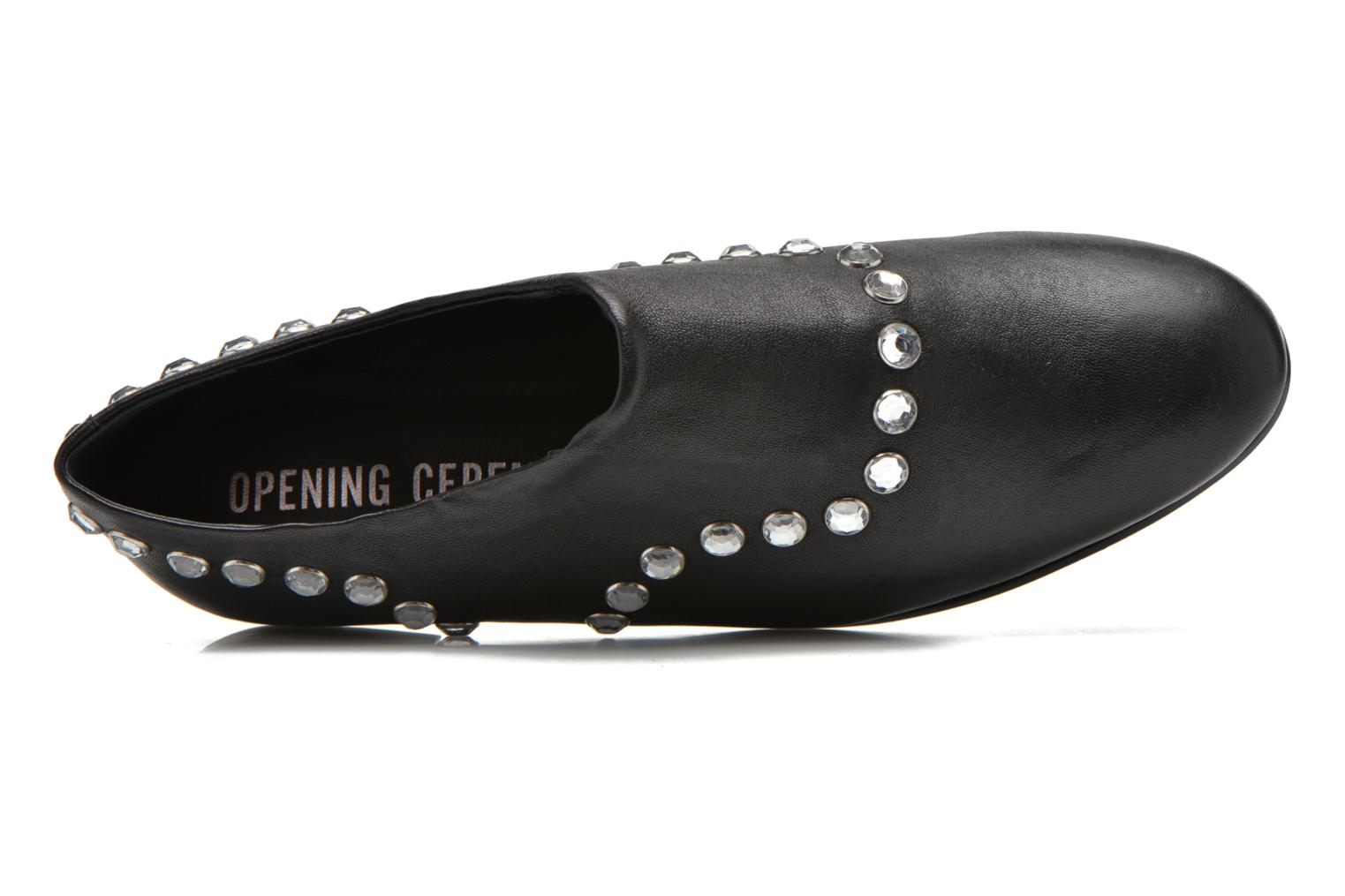 Mocassins Opening Ceremony CHARLY Noir vue gauche