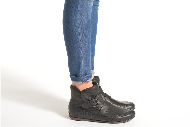 Bottines et boots Geox D NEW MOENA D D3460D Noir vue bas / vue portée sac