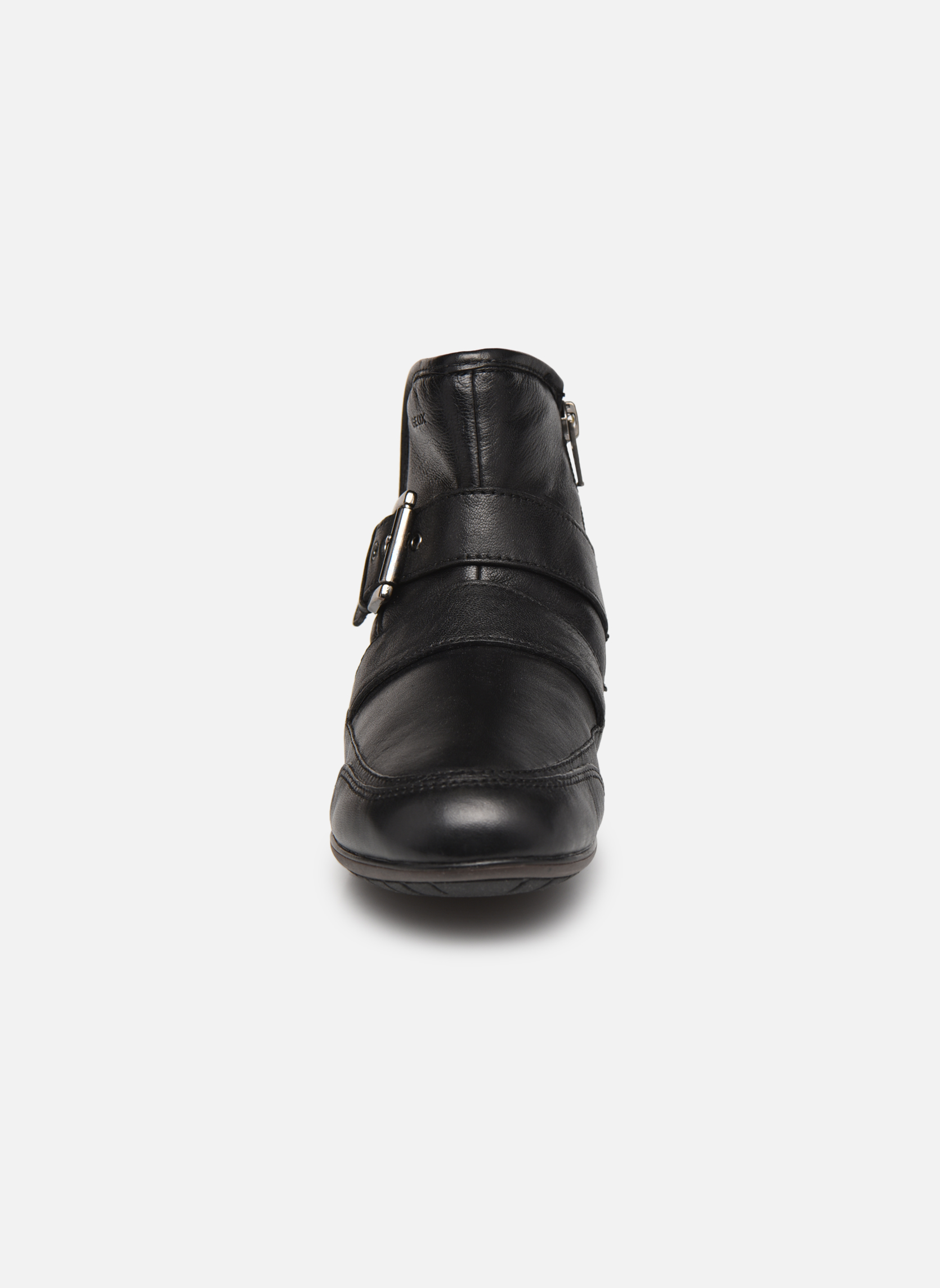 Bottines et boots Geox D NEW MOENA D D3460D Noir vue portées chaussures