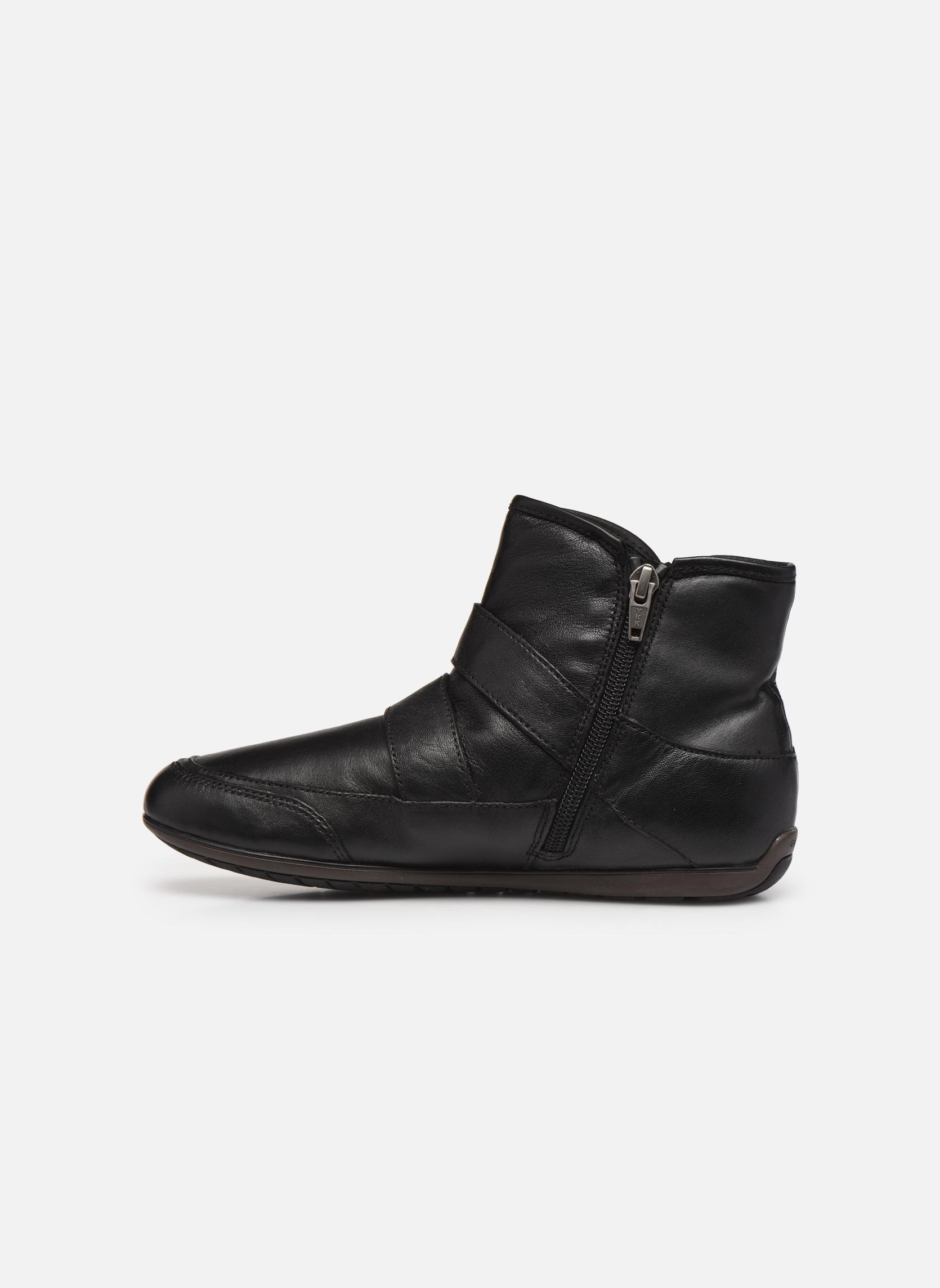 Bottines et boots Geox D NEW MOENA D D3460D Noir vue face