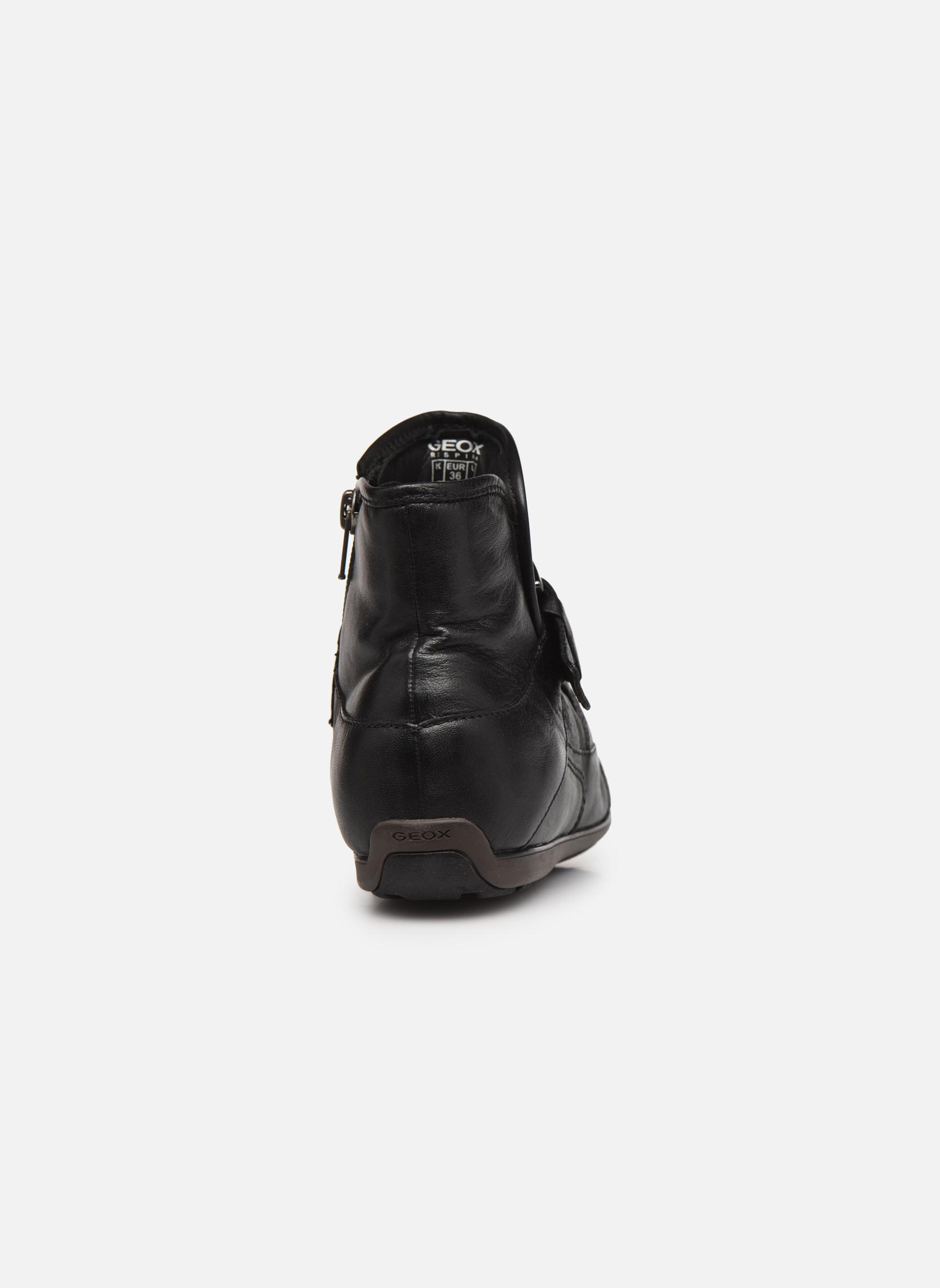 Bottines et boots Geox D NEW MOENA D D3460D Noir vue droite