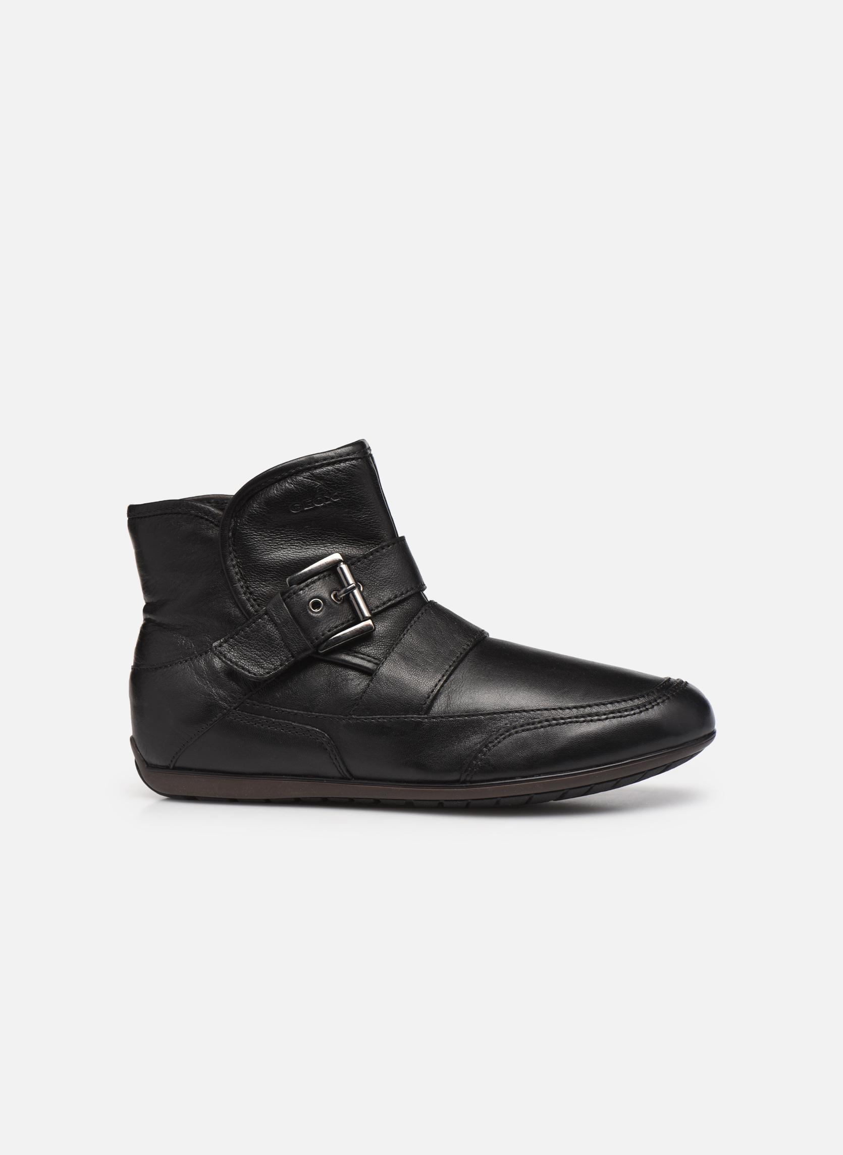 Bottines et boots Geox D NEW MOENA D D3460D Noir vue derrière