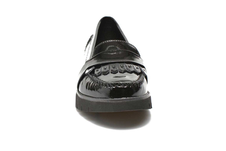 Mocassins Geox D BLENDA C D640BC Noir vue portées chaussures
