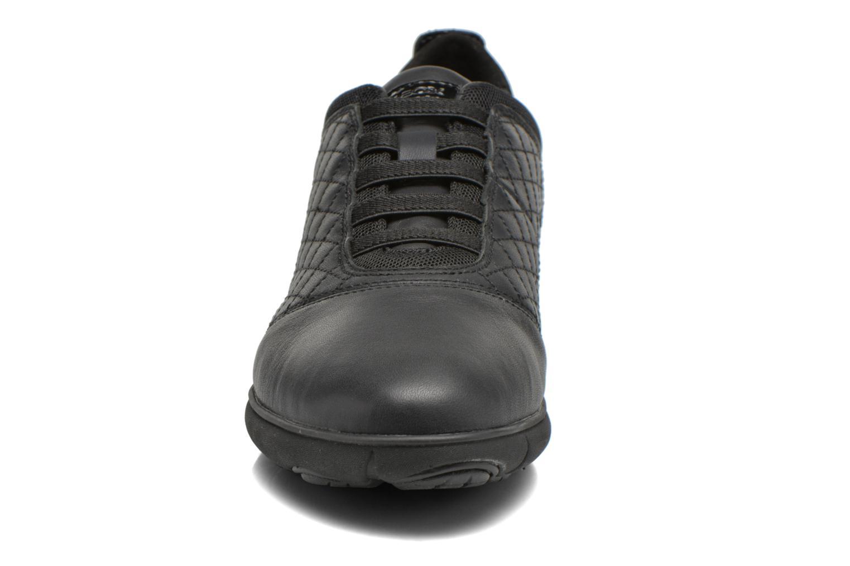 Baskets Geox D NEBULA F D641EF Noir vue portées chaussures
