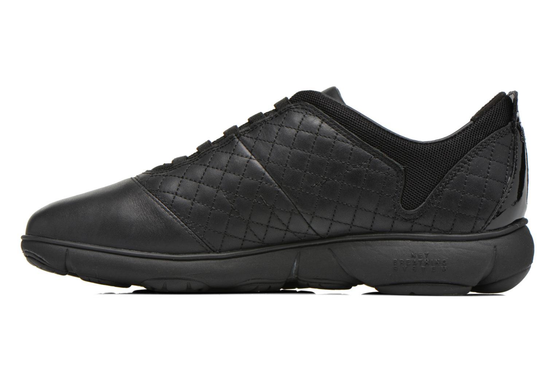 Sneakers Geox D NEBULA F D641EF Zwart voorkant