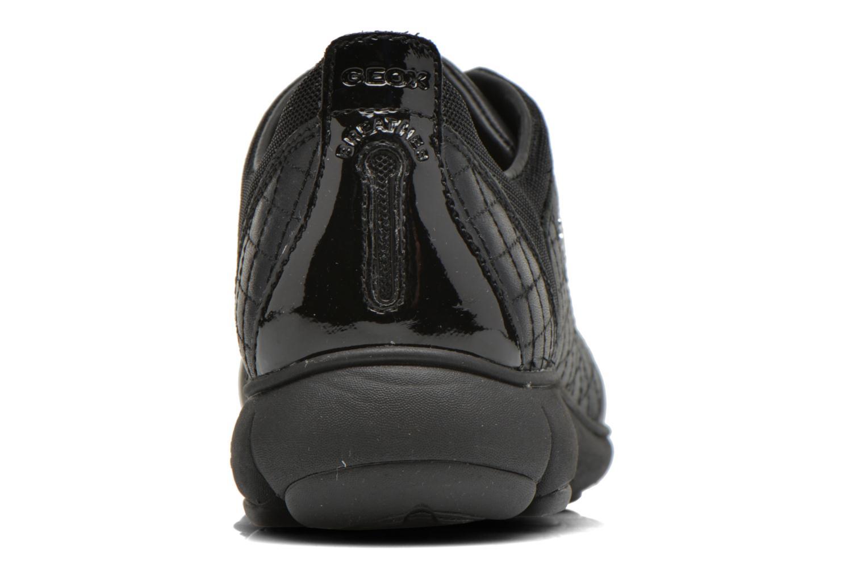 Baskets Geox D NEBULA F D641EF Noir vue droite