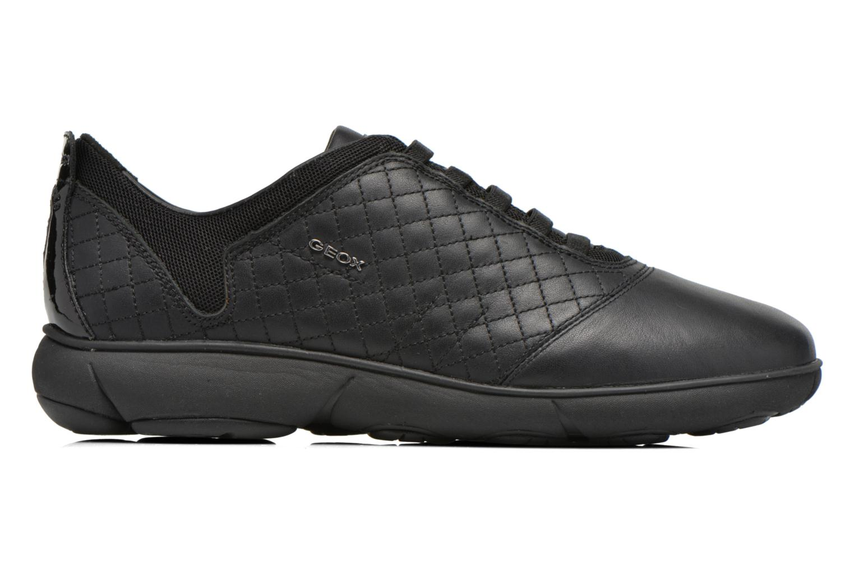 Sneakers Geox D NEBULA F D641EF Zwart achterkant