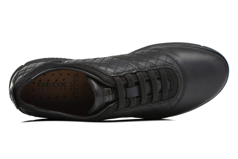 Sneakers Geox D NEBULA F D641EF Zwart links