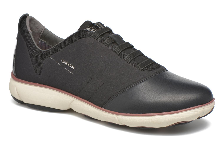 Grandes descuentos últimos zapatos Geox D NEBULA G D641EG (Negro) - Deportivas Descuento