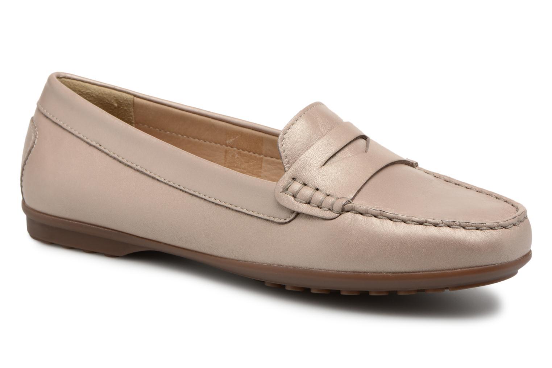 Grandes descuentos últimos zapatos Geox D ELIDIA A D642TA (Beige) - Mocasines Descuento