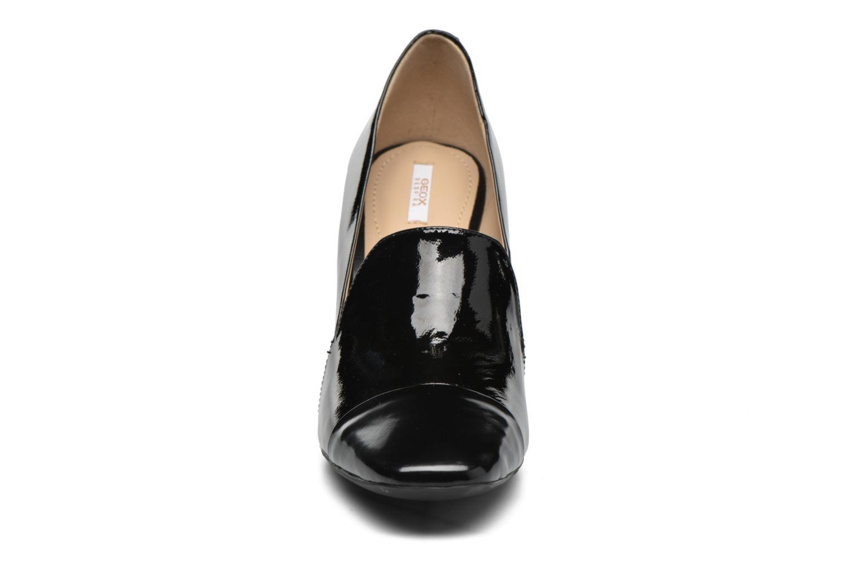 Escarpins Geox D NEW SYMPHONY HIGH. E D642VE Noir vue portées chaussures