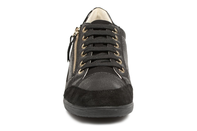 Baskets Geox D MYRIA A D6468A Noir vue portées chaussures