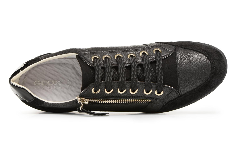 Baskets Geox D MYRIA A D6468A Noir vue gauche