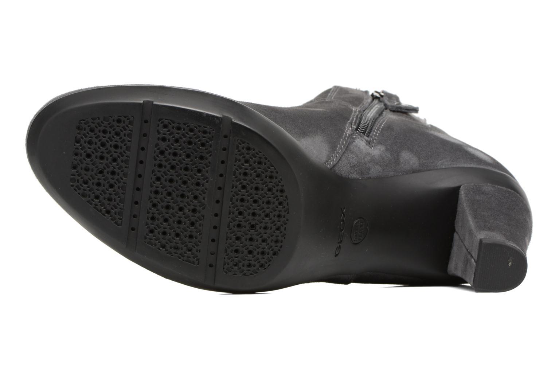Boots en enkellaarsjes Geox D INSPIRATION ST. B D64G9B Grijs boven