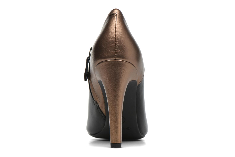 Boots en enkellaarsjes Geox D CAROLINE A D64W1A Zwart rechts
