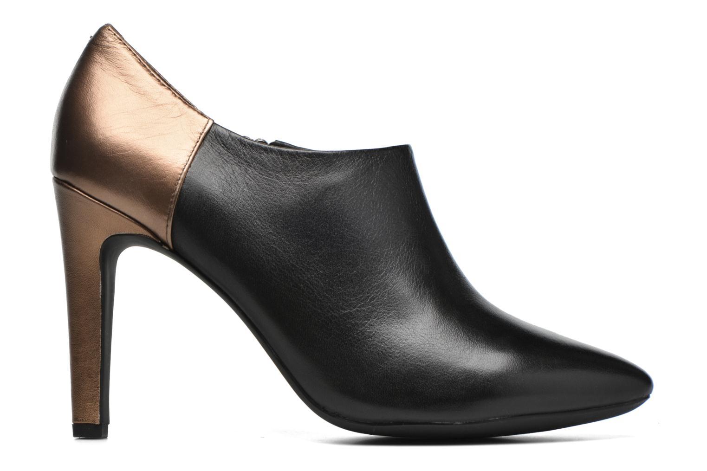 Boots en enkellaarsjes Geox D CAROLINE A D64W1A Zwart achterkant