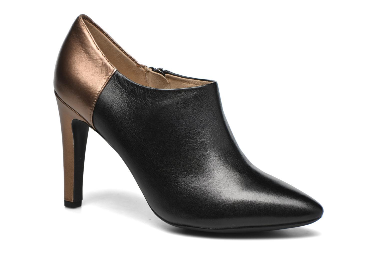 Boots en enkellaarsjes Geox D CAROLINE A D64W1A Zwart detail
