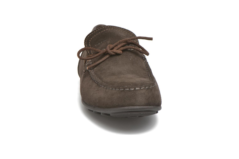 Loafers Geox U GIONA B U640XB Brun bild av skorna på