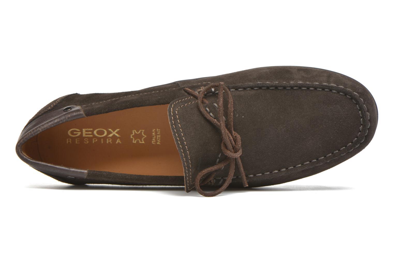Loafers Geox U GIONA B U640XB Brun bild från vänster sidan