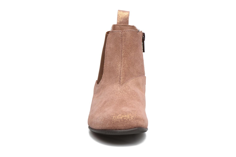Bottines et boots PèPè Adriana Beige vue portées chaussures
