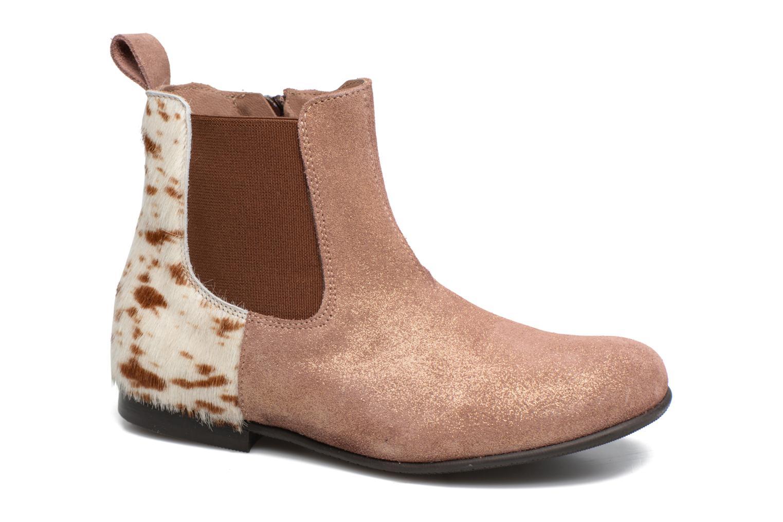 Bottines et boots PèPè Adriana Beige vue détail/paire