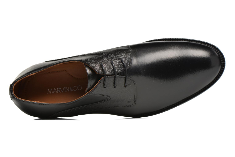 Chaussures à lacets Marvin&Co Northampton Noir vue gauche