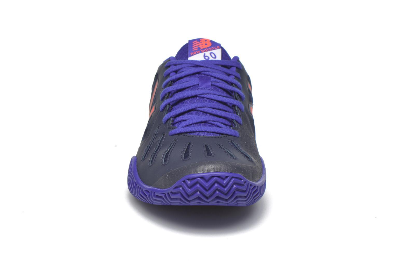 Chaussures de sport New Balance MC60 Bleu vue portées chaussures