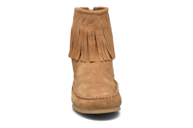 Bottines et boots Les Tropéziennes par M Belarbi Crabe Marron vue portées chaussures
