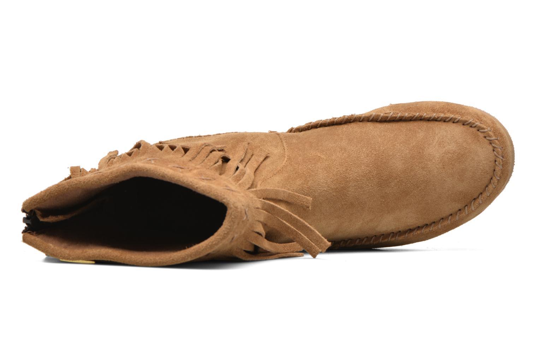 Bottines et boots Les Tropéziennes par M Belarbi Crabe Marron vue gauche