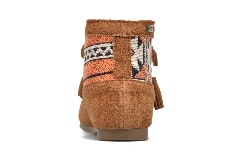 Bottines et boots Les Tropéziennes par M Belarbi Ginika Marron vue droite