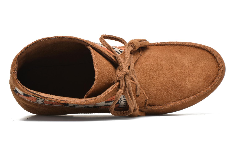 Bottines et boots Les Tropéziennes par M Belarbi Ginika Marron vue gauche