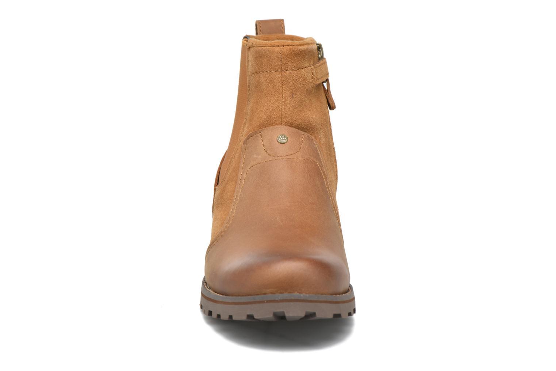 Bottines et boots Timberland Asphalt Trail Chelsea K Marron vue portées chaussures