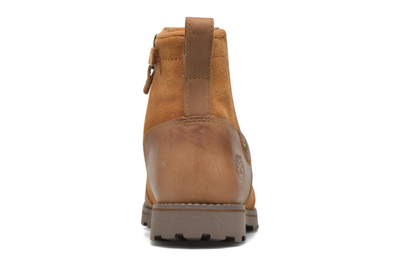 Bottines et boots Timberland Asphalt Trail Chelsea K Marron vue droite