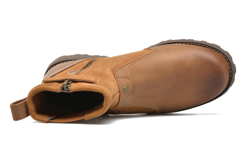 Bottines et boots Timberland Asphalt Trail Chelsea K Marron vue gauche