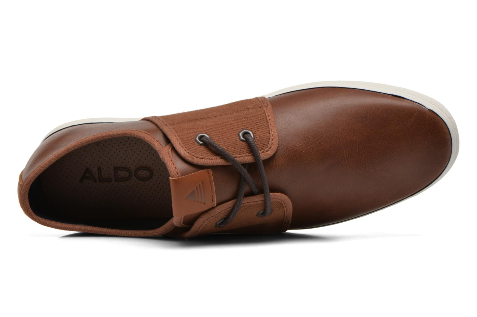 Baskets Aldo HAIREDIA Marron vue gauche
