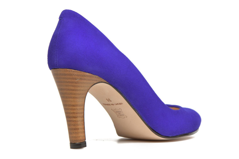 Zapatos de tacón Made by SARENZA Mexicoco #18 Azul vista de frente