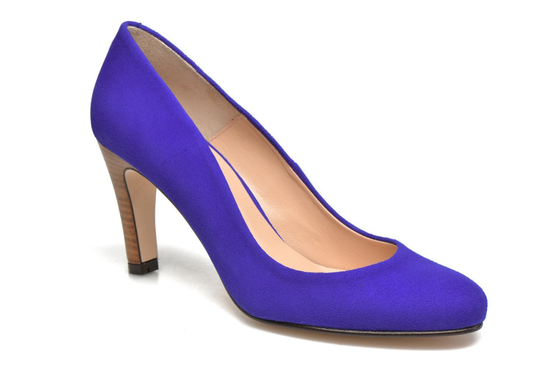 Zapatos de tacón Made by SARENZA Mexicoco #18 Azul vista lateral derecha