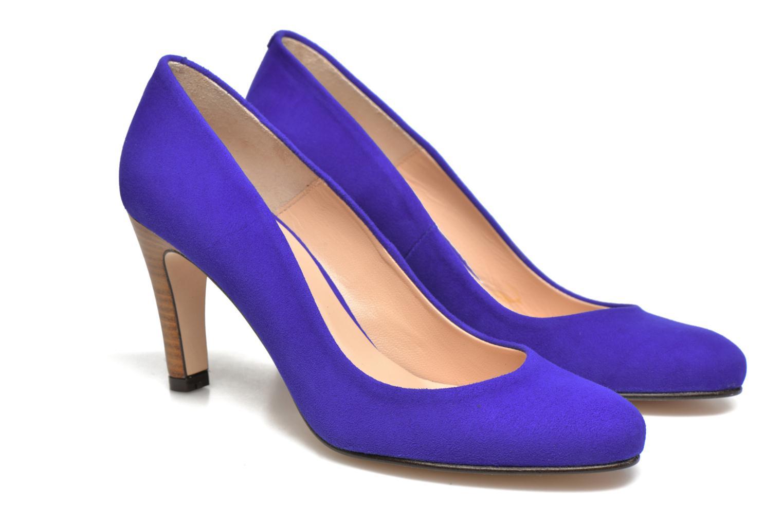 Zapatos de tacón Made by SARENZA Mexicoco #18 Azul vistra trasera