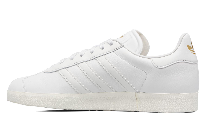 Baskets Adidas Originals Gazelle W Blanc vue face