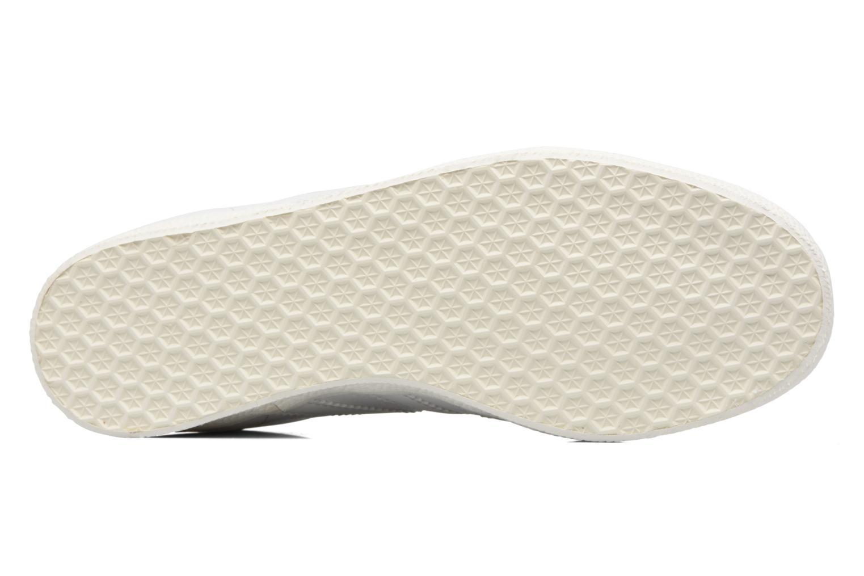 Baskets Adidas Originals Gazelle W Blanc vue haut