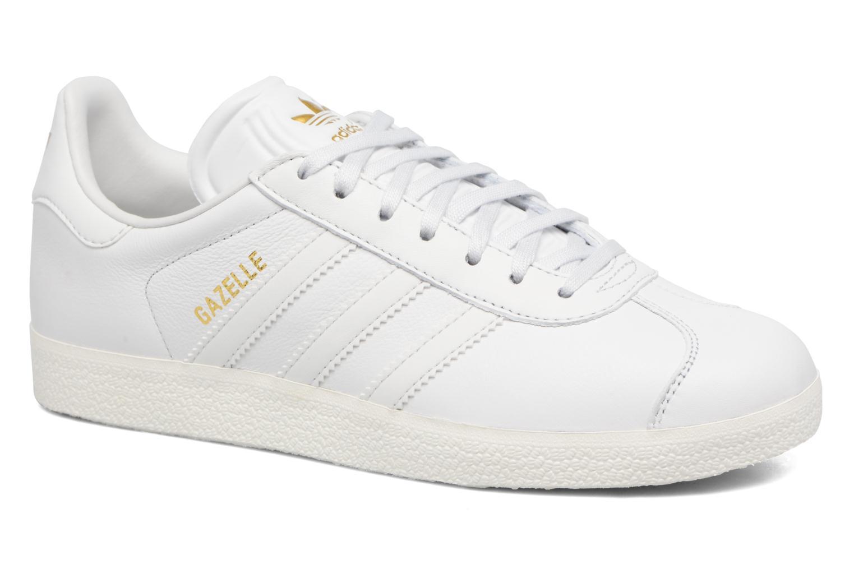 Baskets Adidas Originals Gazelle W Blanc vue détail/paire